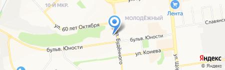 Коррекционная общеобразовательная школа-интернат №23 на карте Белгорода