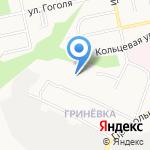Средняя общеобразовательная школа №37 на карте Белгорода