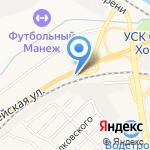 Руслан на карте Белгорода