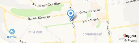 Альфа Дент на карте Белгорода