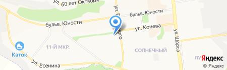 Салон печати на карте Белгорода