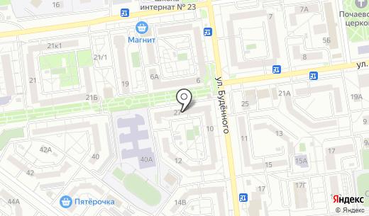 Дом быта. Схема проезда в Белгороде