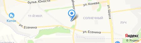 Мармелад на карте Белгорода