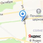Экспресс-оптика на карте Белгорода
