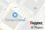 Схема проезда до компании Буран климат в Белгороде