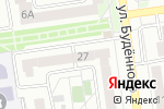 Схема проезда до компании Радуга+ в Белгороде