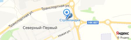 Русклимат-Белгород на карте Белгорода