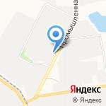 Астра на карте Белгорода