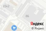 Схема проезда до компании Либена в Белгороде