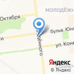 Участковый пункт полиции №3 на карте Белгорода