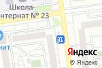 Схема проезда до компании Золотой Ключ в Белгороде