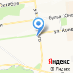 Я-Рыбак на карте Белгорода