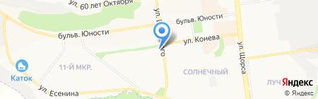 Магазин детской одежды на карте Белгорода