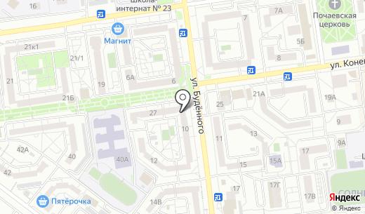 Восток-Сервис-Черноземье. Схема проезда в Белгороде