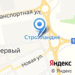 Строительное оборудование на карте Белгорода