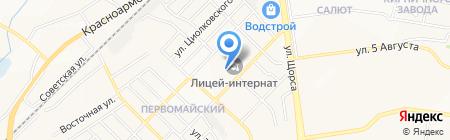 Белгородский техникум промышленности и сферы услуг на карте Белгорода