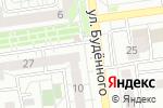 Схема проезда до компании Я-Рыбак в Белгороде
