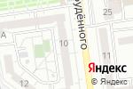 Схема проезда до компании Вельвет в Белгороде