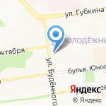 Автосеть 31 на карте Белгорода