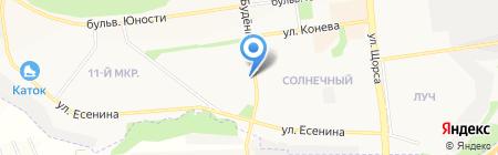 Орбита на карте Белгорода