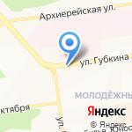 Займём на карте Белгорода