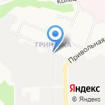 Сеть магазинов на карте Белгорода