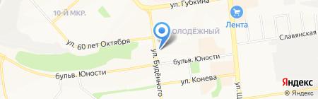 Буратино на карте Белгорода