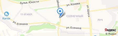 Агромакс на карте Белгорода
