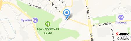 Кемпинг на карте Белгорода