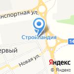 Магазин пиломатериалов на карте Белгорода