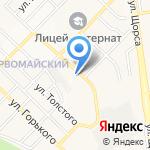Пивной Арсенал на карте Белгорода