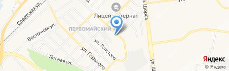 Малина на карте Белгорода