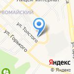 КФГ на карте Белгорода