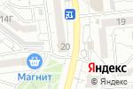 Схема проезда до компании M.REASON в Белгороде