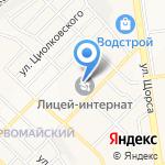 Белгородский инженерный юношеский лицей-интернат на карте Белгорода