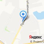 Киоск свежей выпечки на карте Белгорода