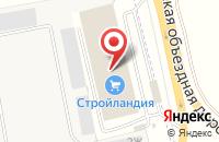 Схема проезда до компании Интер-Мастер в Северном-Первом