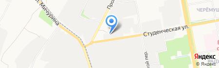 Витрум на карте Белгорода