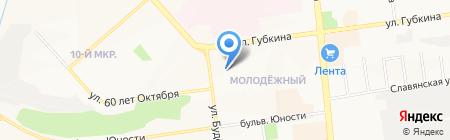 Танго на карте Белгорода
