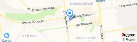 Скарлетт на карте Белгорода