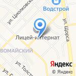 Спектр на карте Белгорода