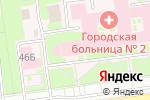 Схема проезда до компании Поликлиника №7 в Белгороде