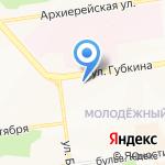 Ломбард №1 на карте Белгорода