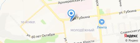 Сезон у дачи на карте Белгорода