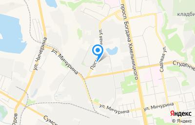 Местоположение на карте пункта техосмотра по адресу г Белгород, ул Промышленная, д 6А