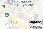 Схема проезда до компании Акцент в Белгороде