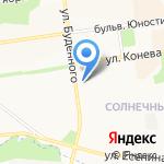Люкс-Дент на карте Белгорода