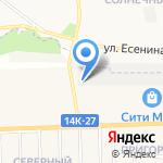 H2O на карте Белгорода
