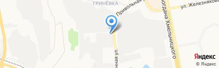 Техдизайн на карте Белгорода