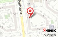 Схема проезда до компании Мастер окон в Белгороде